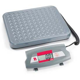 "Ohaus SD35 AM Bench/Shipping Digital Scale 77lb Capacity 12-7/16"" x 11"" Platform by"