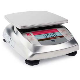 "Ohaus V31XW6 AM Compact Bench/Food Washdown Digital Scale 13.225lb x 0.005lb 5-13/16""... by"