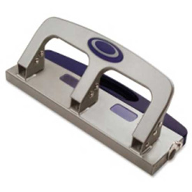 """Officemate 3-Hole Punch 9/32"""" Punch Size with 20 Sheet Capacity by"""