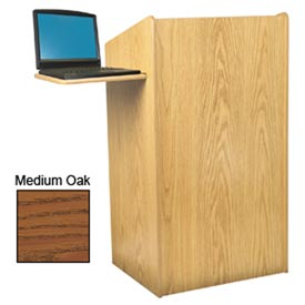 Aristocrat Floor Lectern / Podium - Medium Oak