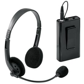 Wireless Headset Microphone for Sound Lecterns, For PAW90X