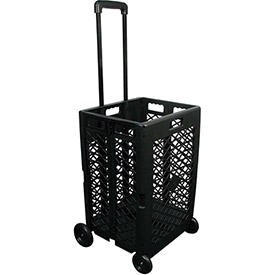 Olympia Tools Pack-N-Roll® Mesh Rolling Folding Crate Cart 85-404 - 55 Lb. Capacity