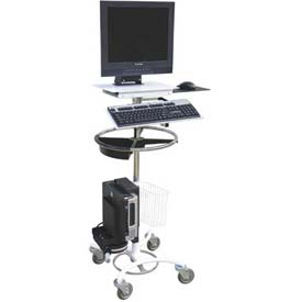 Omnimed Omni Computer Cart with Cord Reel by