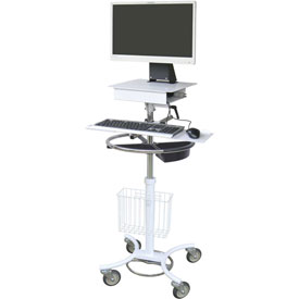 Omnimed All-In-One Mobile Computer Cart by