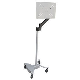Omnimed® Patient Connect Cart with Articulating Arm for Tablet Mount