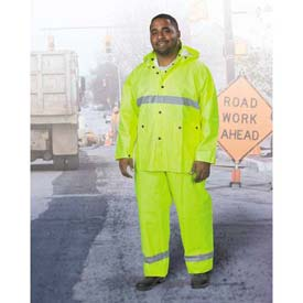 Onguard-Visitex II Yellow 3 Piece Suit, PVC on Polyester, 2XL