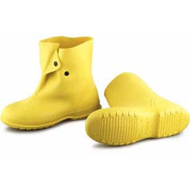 "Onguard Men's, 10"" Viking Yellow Overshoe W/4-Way Cleated Outsole, PVC, Size Small by Overshoes"
