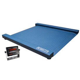 "Optima 917 Series Heavy Duty Large Platform Drum Digital Scale 48"" x 52"" 5000lb x 1lb by"