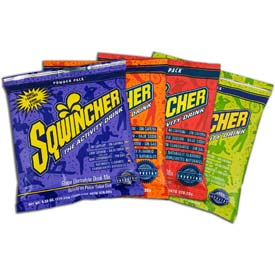 Sqwincher 1 Gallon Instant Powder Mix - Assorted Packages
