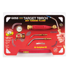 "Target Air-Acetylene Torch Outfits 5/16""; 7/16"" Acetylene (B) Soldering/Brazing by"