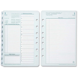 "Cross Franklin Covey Monarch Planner Refill 11"" x 9"" x 1-3/4"" Green, White by"