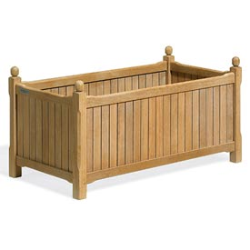 "English Outdoor Planter 19"" x 38"""