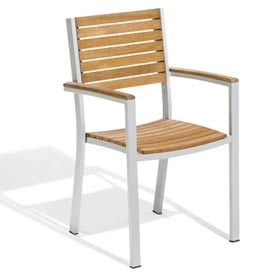 Oxford Garden® Travira Outdoor Armchair - Teak (Sold in Pk. Qty 2)