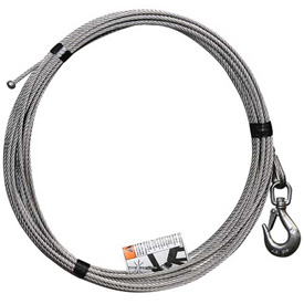 "OZ Lifting 3/16"" Stainless Steel Cable Assembly for COMPOZITE Davit Crane by"