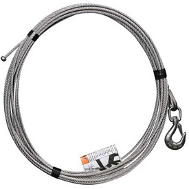 "OZ Lifting 1/4"" Stainless Steel Cable Assembly for COMPOZITE Davit Crane by"