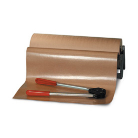 "Poly Coated Virgin Kraft Paper, 50#, 24"" x 600', 1 Roll"