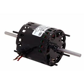 Electric motors hvac 3 diameter century 356 3 3 for Double ended shaft electric motor
