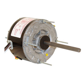 "Century 629A,5 5/8"" Split Capacitor Condenser Fan Motor - 208-230 Volts 825 RPM"