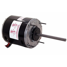 "Century 665A, 5 5/8"" Split Capacitor Condenser Fan Motor - 208-230 Volts 1625 RPM"