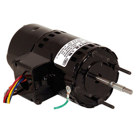 "Century 9409, 3.3"" Shaded Pole Draft Inducer Motor - 3000 RPM 460 Volts"