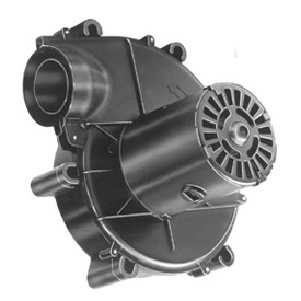 "Fasco 3.3"" Shaded Pole Draft Inducer Blower, A086, 115 Volts 3200 RPM"