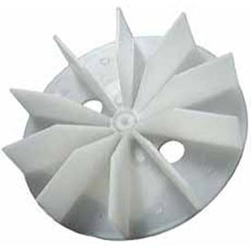 "Packard Plastic Blower Wheels And Blades - 7/32"" Bore 4 9/16"" Diameter"