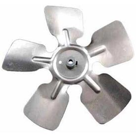 "6"" Small Aluminum Fan Blade W/ Hub - 1/4"" Bore Ccw - Min Qty 6"