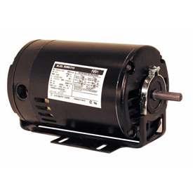 Century BF1052, Capacitor Start Resilient Base Motor - 115/208-230 Volts 3450 RPM