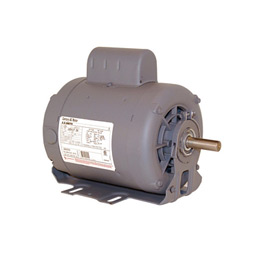 Century C607, Capacitor Start Resilient Base Motor - 115/208-230 Volts 1725 RPM