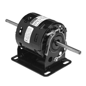 "Fasco D1104, 3.3"" Double Shaft Motor - 115 Volts 1550 RPM"