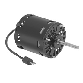 "Fasco D1120, 3.3"" Shaded Pole Open Motor - 115 Volts 1550 RPM"