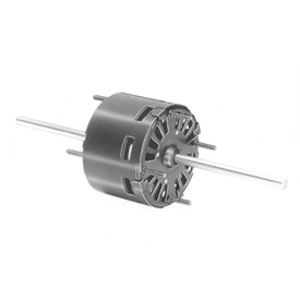 "Fasco D128, 3.3"" Double Shaft Motor - 115 Volts 1500 RPM"
