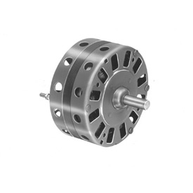 "Fasco D143, 5"" Shaded Pole Motor - 115 Volts 1050 RPM"
