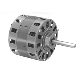 "Fasco D316, 5"" Shaded Pole Motor - 230 Volts 1050 RPM"