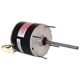 "Century 5 5/8"" Split Capacitor Condenser Fan Motor - 1625 RPM 460 Volts"