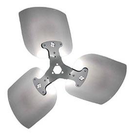 """Lau 3 Blade Heavy Duty Condenser Propeller 16"""" Diameter Cw Rotation Package Count 2 by"""