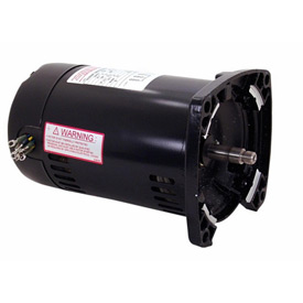 Century Q3152, 3 Phase Square Flange Pump Motor - 208-230/460 Volts 1-1/2HP