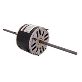 "Century RA1006, 5-5/8"" Double Shaft Fan/Blower Motor 208-230 Volts 1075 RPM 1/8 HP"