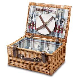 Picnic Time Bristol Willow Picnic Basket by