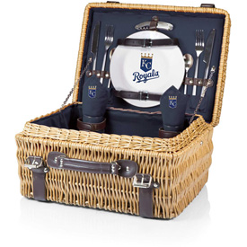 Click here to buy Champion Picnic Basket Navy/Slate (Kansas City Royals) Digital Print.