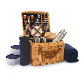 Picnic Time Canterbury Willow Picnic Basket by