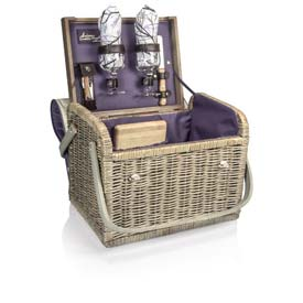 Picnic Time Kabrio Aviano Willow Picnic Basket by