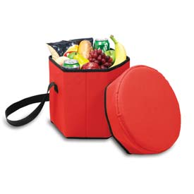 Click here to buy Picnic Time Bongo Six-Sided Cooler, Red.
