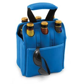 Picnic Time Six Pack Cooler Tote, Royal Blue by