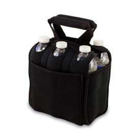 Click here to buy Picnic Time Six Pack Cooler Tote, Black.