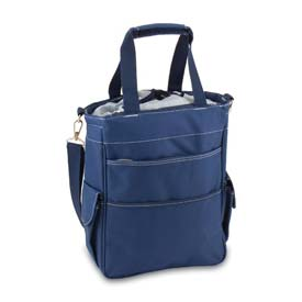 Click here to buy Picnic Time Activo Cooler Tote Navy.