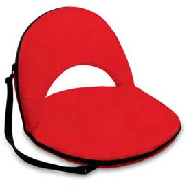 "Picnic Time Oniva Seat 626-00-100-000-0, 29""W X 21""D X 2""H, Red"