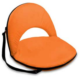 "Picnic Time Oniva Seat 626-00-103-000-0, 29""W X 21""D X 2""H, Orange"