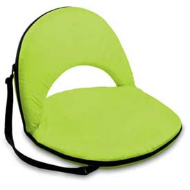 """Picnic Time Oniva Seat 626-00-104-000-0, 29""""W X 21""""D X 2""""H, Lime"""