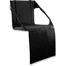"Picnic Time Stadium Seat 627-00-179-000-0, 17""W X 15""D X 3""H, Black"